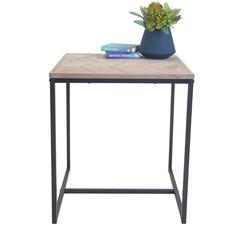 Fir Wood Avoca Chevron Side Table