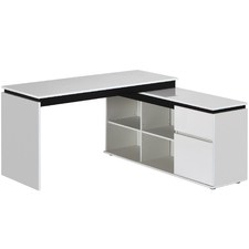 Milano High Gloss Executive Desk