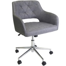 Charcoal Edwin Tufted Executive Office Chair