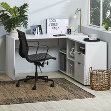 Rico L-Shaped Executive Desk