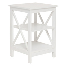 Long Island 2 Shelf Side Table