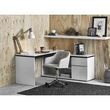 Milano High Gloss Executive Desk