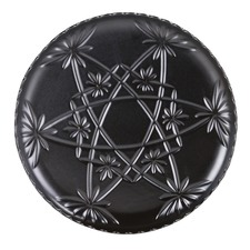 Black Hardware Lane Cake Plate