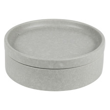2 Piece Grey Stack, Serve & Store 18.3cm Bowl & Plate Set