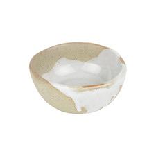White & Brown Forager 8.5cm Stoneware Condiment Bowl