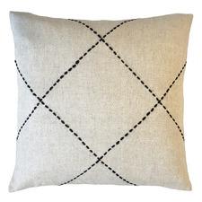 Natural Mendoza Cotton-Blend Cushion