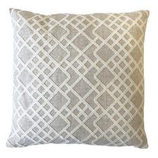 Natural Trinity Cotton-Blend Cushion
