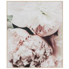 Floral Arrangement II Framed Canvas Wall Art