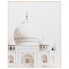 Indian Architecture Framed Canvas Wall Art