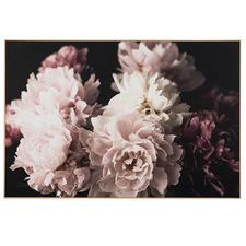 Pastel Bouquet Framed Canvas Wall Art