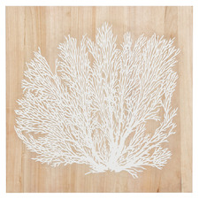 Coral Reef Wooden Wall Art