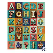 Ridleys Alphabet Jigsaw Puzzle