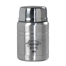 Stainless Steel Food Flask & Spoon
