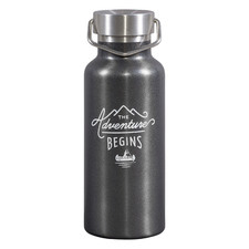 500ml Gunmetal Stainless Steel Water Bottle