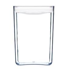 4.3L White Cube Pantry Jar (Set of 4)