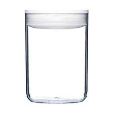 2.3L White Round Pantry Jar (Set of 4)
