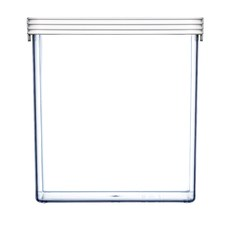 4.3L White Kitchen Basics Food Container (Set of 4)