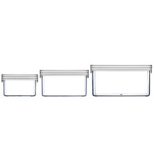 ClickClack Standard Square Food Storage (Set of 3)