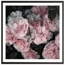 Pink Blooms Printed Wall Art