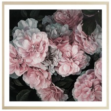 Pink Blooms Printed Wall Art