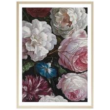 Romantic Floral Printed Wall Art