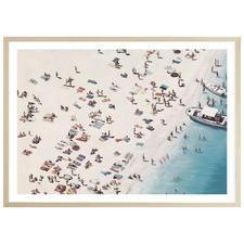 Day At The Beach Printed Wall Art