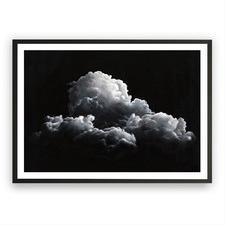 Clouds At Night Printed Wall Art
