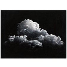 Clouds At Night Printed Wall Art