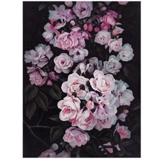 Pink Midnight Garden Printed Wall Art