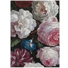 Romantic Floral Printed Wall Art