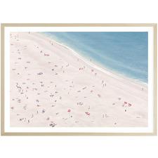 Sunbathers Printed Wall Art