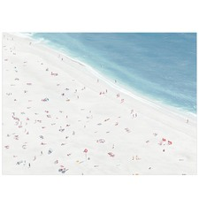 Sunbathers II Printed Wall Art