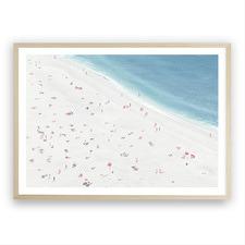Sunbathers II Printed Wall Art
