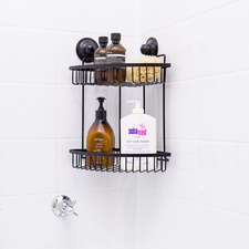 2 Tier Kiahloc Corner Shower Caddy