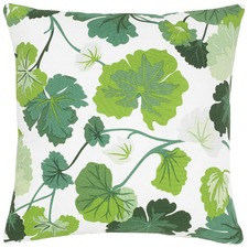 Arden Green Cotton Cushion