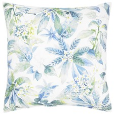 Briana White Cotton Cushion
