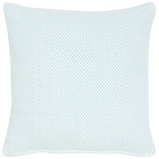 Cutler Blue Cotton Cushion
