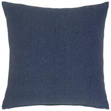Kobi Navy Cotton Cushion