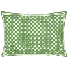 Neku Green Cotton Cushion