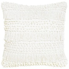 Shimmy Ivory Cotton Cushion