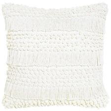 Shimmy Ivory Cotton Cushion