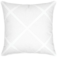 Tonic White Cotton Cushion