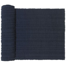 Mendo Navy Cotton Table Runner