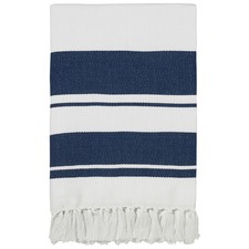 Minori Navy Throw Rug