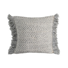 Zig Zag Weave Avery Tasselled Cushion