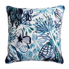 Printed Kanshi Cotton-Blend Cushion