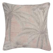 Chusan Linen-Blend Reversible Cushion