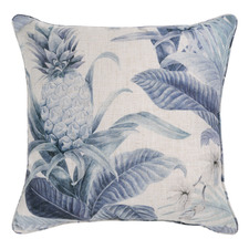 Almeria Linen-Blend Reversible Cushion