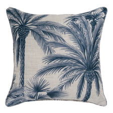 Chusan Linen-Blend Reversible Cushion