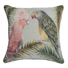 Olivier Linen-Blend Reversible Cushion